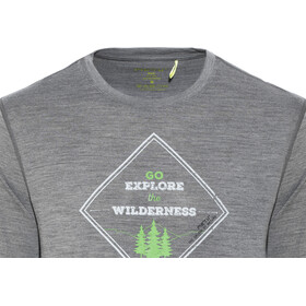 Meru Akka Langærmet T-shirt Herrer, anthracite
